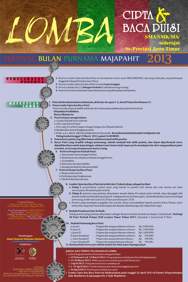 POSTER LOMBA BACA-PUISIkcill