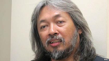 Seno Gumira Ajidarma mengaku mengembara adalah tujuan hidupnya.
