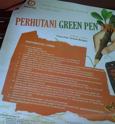 PerhutaniGreenPenAward-w600